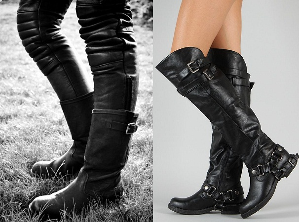 Motorcycle Boots For Biker Girls