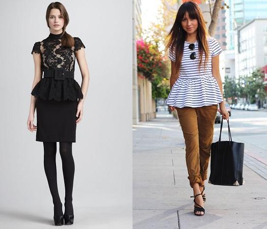 Peplum Dresses And Tops