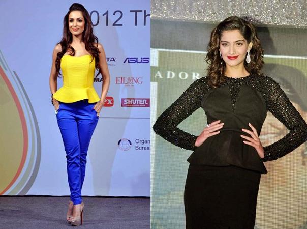 Peplum Look By Bollywood Divas