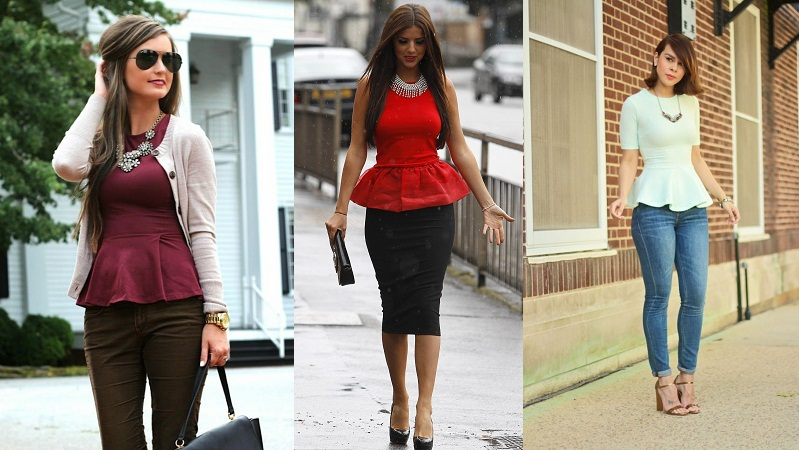 Peplum Look With Modernise Look