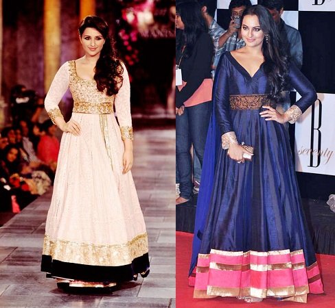 Plump Body Type Anarkali