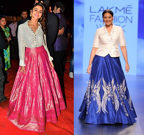 Shirt Style Blouse By Bollywood Divas