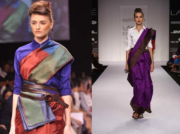 Shirt Style Blouse By Payel Khandwala