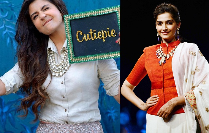 Shirt Style Blouses By Anushka And Sonam