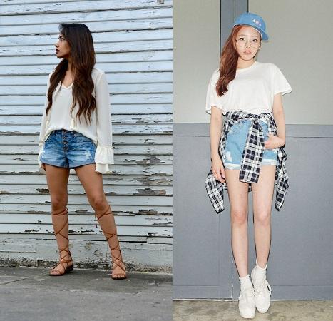 Shorts For Short Height Girls