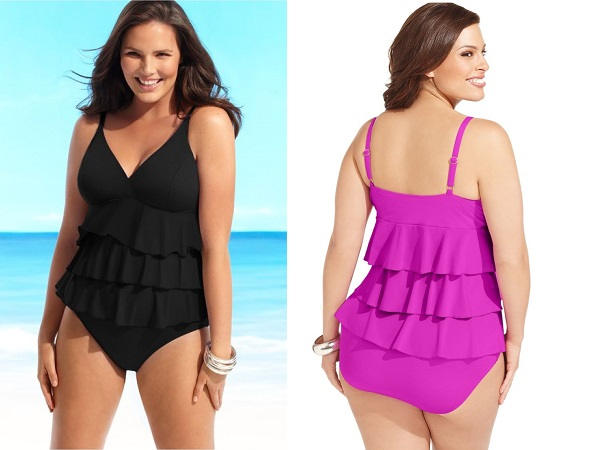 Swingy Ruffles Beachwear