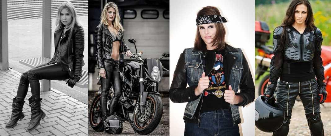 The Daredevil Fashion for Biker Girls