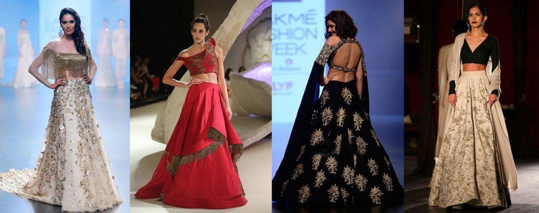 Astonishing Lehenga Blouse Designs