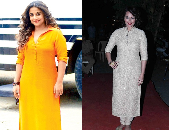 Bollywood Celebs In Designer Kurtis