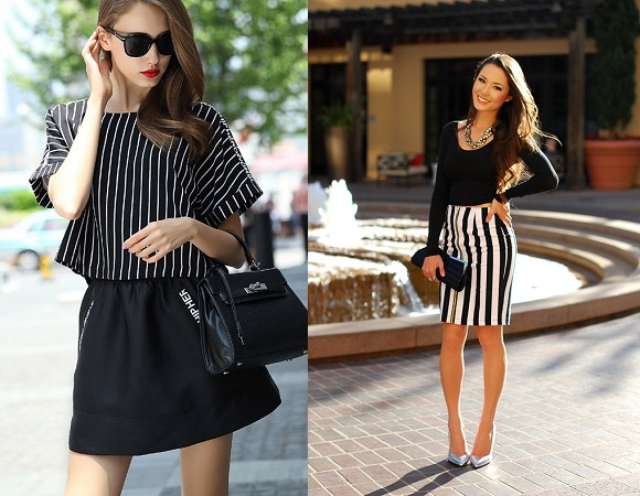 Choose Vertical Stripes Dress