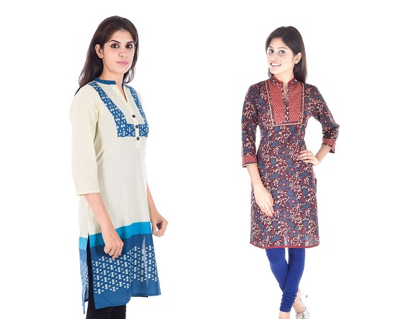 Cotton Straight Kantha Kurtis
