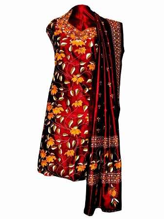 Embroidery Kurtis With Kantha Work