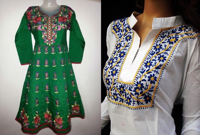 Indian Handmade Embroidery Kurtis
