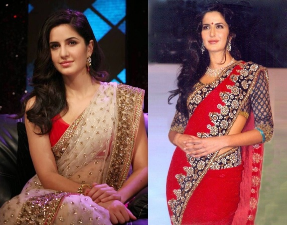 Indian designer saris By Bollywood Celebs