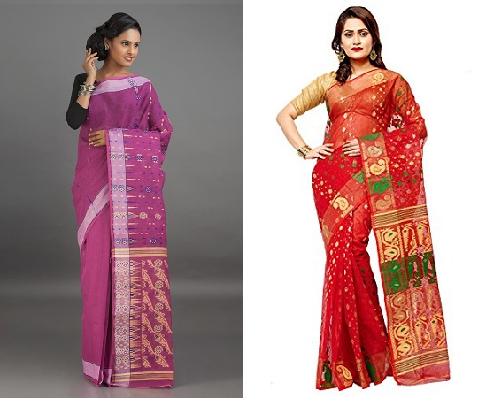 Jamdani Cotton Sarees