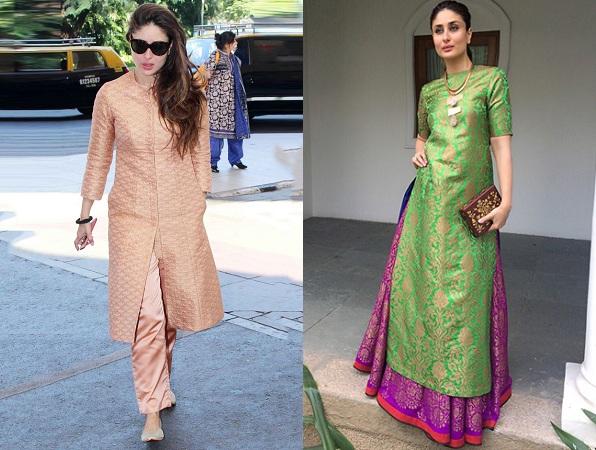 Kareena Kapoor Khan in designer kurtis