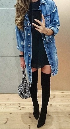 Knee-Length Boot