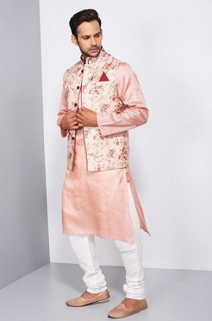 Kurta With Nehru Jacket