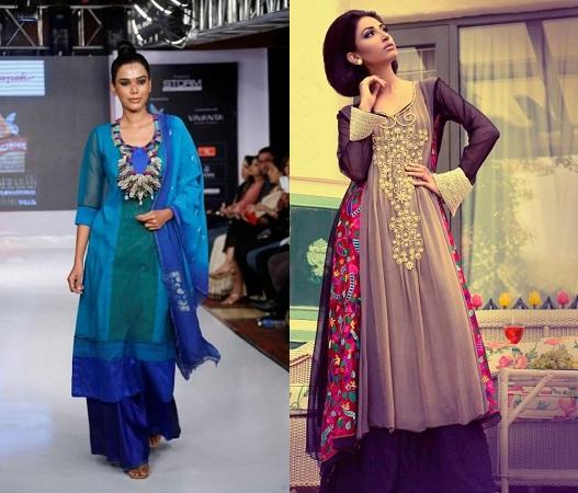 Look Beautiful In Pakistani Kurtis