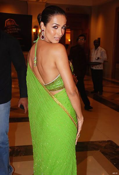 Malaika Arora Khan In Backless Blouse