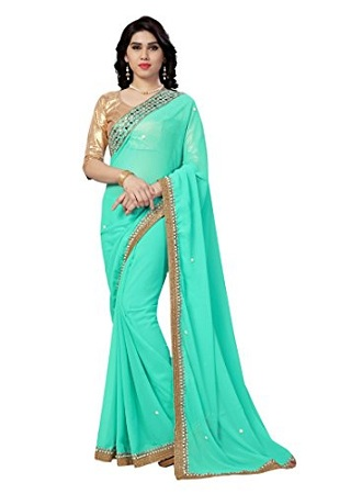 Nylon Georgette Saree