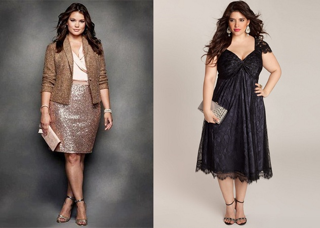 Party Wear Outfits For Plus Size Women
