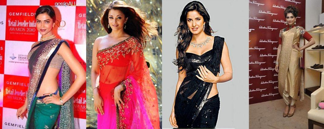 Saris Draping Style