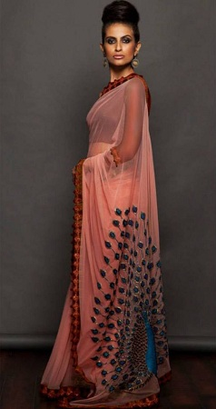 Silk Georgette Saree