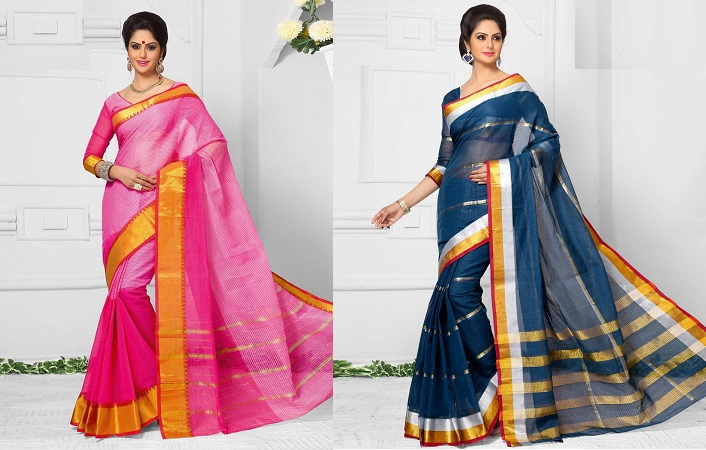 South Indian Cotton Sarees
