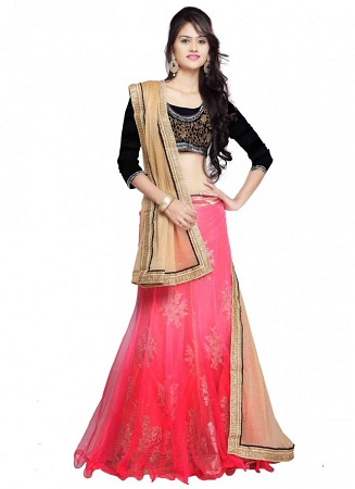 Straight Cut Lehenga Choli