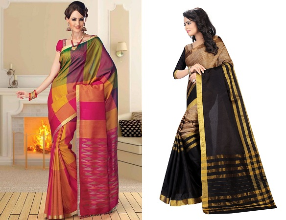 Traditional Wear Cotton Saree