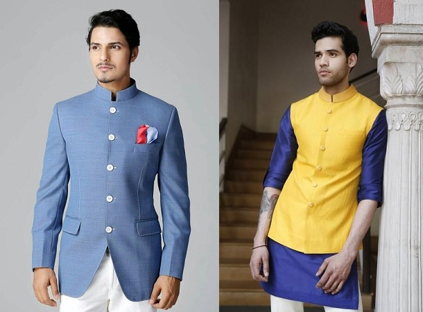 Wedding Nehru Jacket Coat
