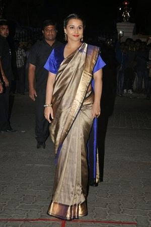 Boxy Sleeve Saree Blouse