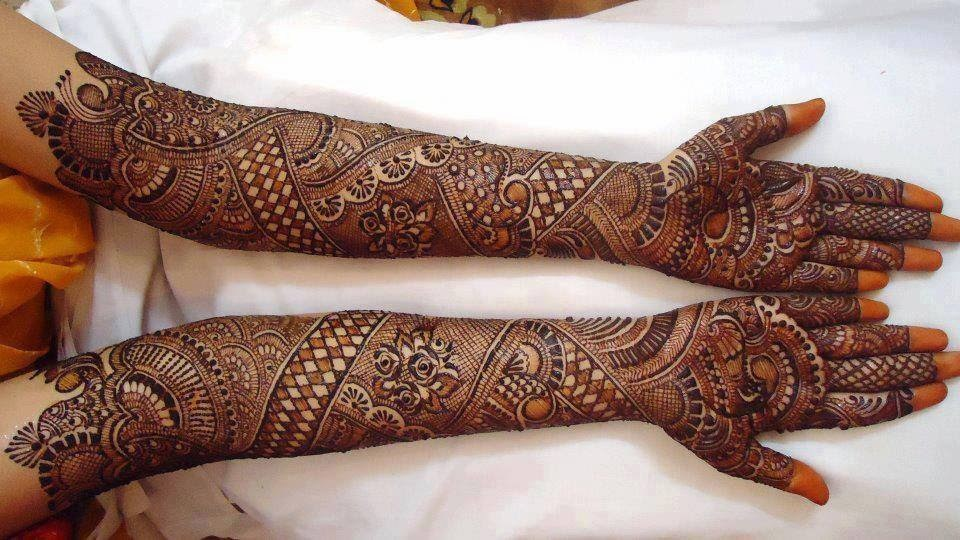 Amazing Bridal Mehendi Design