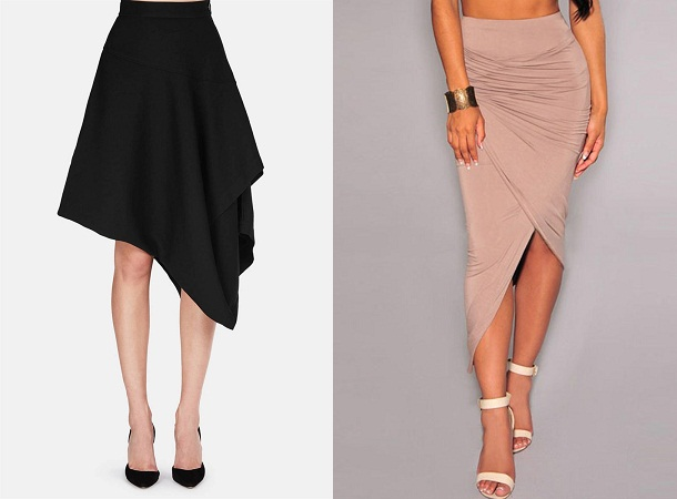 Asymmetrical Style Skirt