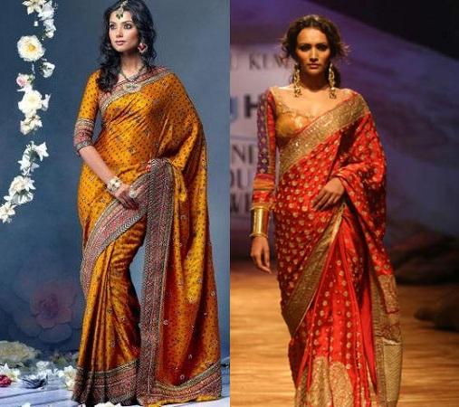 Bandhani Saree Blouse