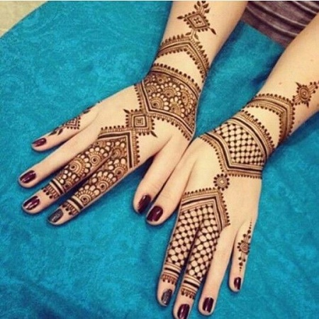Beautiful Moroccan Mehendi Design
