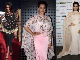 Bollywood Celebs with Poncho Style