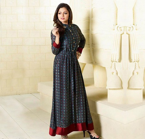 Closed Collar Kurti
