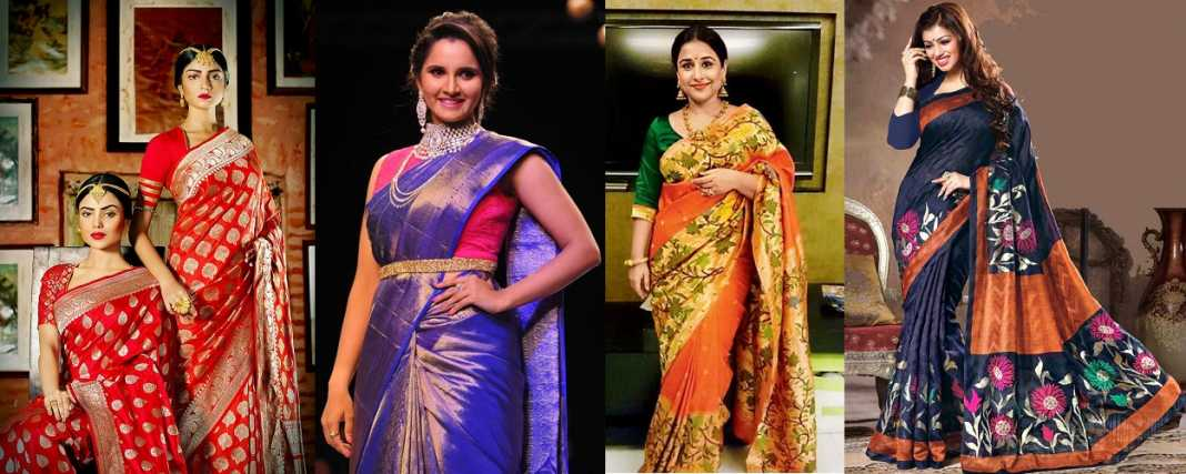 Conventional Saree Types For Different Occasions
