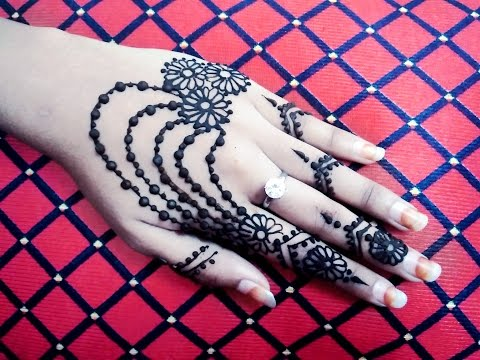 Gorgeous Jewellery Mehendi Design