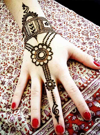 Hand Jewellery Mehendi Design