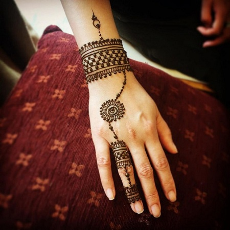 Jewellery Mehendi Design
