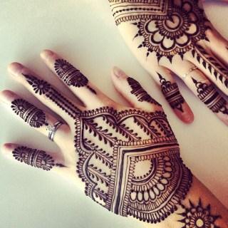 Karwa Chauth Mehendi Back Design