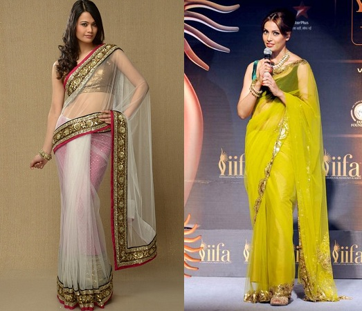 Lightweight Sheer Saree