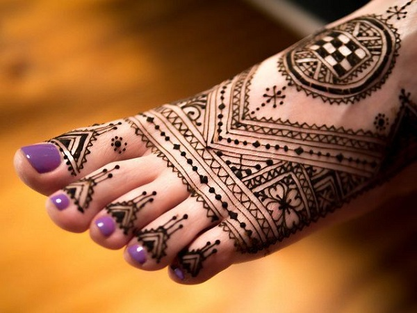 Moroccan Mehendi Design For Feet