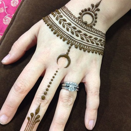 Pretty Mehendi Design For Eid