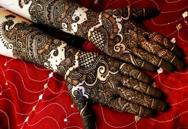 Punjabi Mehendi Design For Full Hands