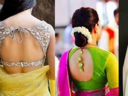 Trending Blouse Back Designs