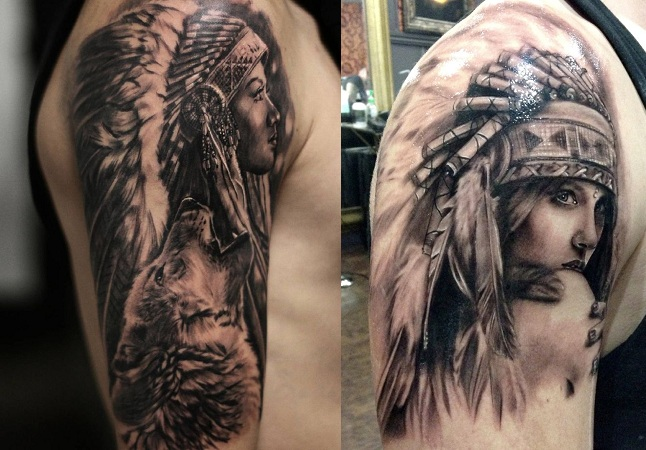 American Indian Heritage Tattoos